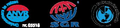 Aangesloten bij ANVR, SGR en Calamiteitenfonds