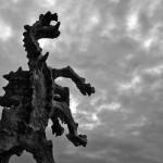 Standbeeld draak